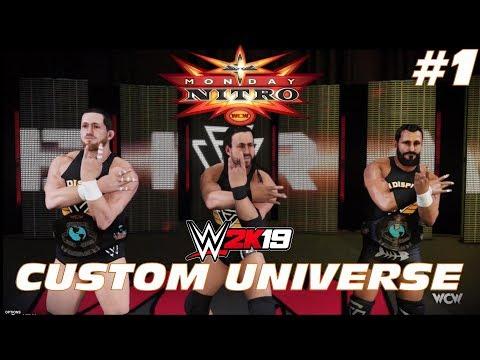 Draft | Raw vs Smackdown vs WCW vs BCW | WWE 2K19 Universe