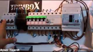 Trimbox kaçak akım Rolesi