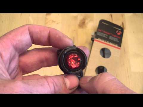 Bontrager Bike Light Review - Glo Ember Lightset