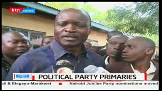 Governor Okoth Obado's ultimatum to the ODM elections board following announcement of results