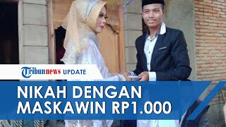 VIRAL Pasangan di Lombok Menikah Pakai Maskawin Uang Rp1.000 yang Bergambar Kapten Pattimura