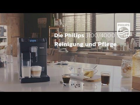Philips Kaffeevollautomaten 4000er u. 3100er Serie: Reinigung und Pflege