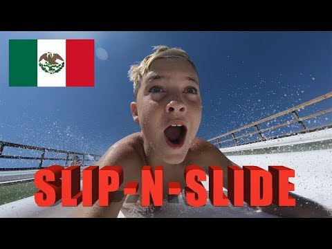 Insane Slip-N-Fly In Mexico & Waterpark Fails