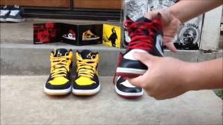 "Air Jordan 1 ""Old Love New Love Pack"" (On Feet)"