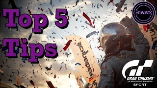 Top 5 beginner tips for Gran Turismo Sport