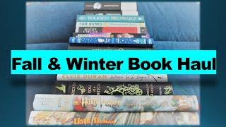 Fall & Winter Book Haul