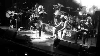 Europe 'Drink and a smile' HMV Ritz Manchester 23/11/12