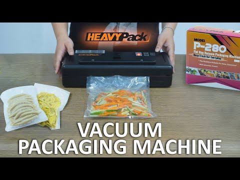 Flat Bag Vacuum Packaging Machine P-280 Heavypack