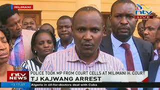 TJ Kajwang' arrested in Nairobi - VIDEO