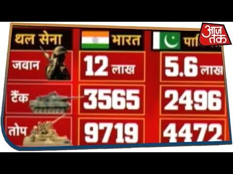 अगर छिड़ा युद्ध तो जानिए भारत के सामने कितनी देर टिक पाएगा पाकिस्तान?