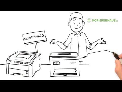 Gebrauchte Kopierer + Drucker | Kaufberatung