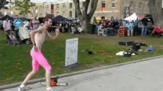 Mr Inferno Juggling Chainsaw