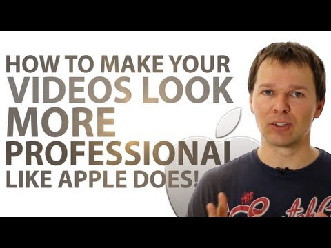 How To Create Apple White Background Videos And Make Your Videos Look More Professional