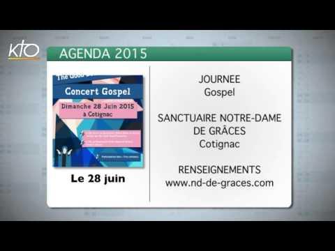 Agenda du 15 juin 2015