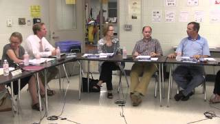 preview picture of video 'Hinesburg School Board Meeting: September 11, 2013'