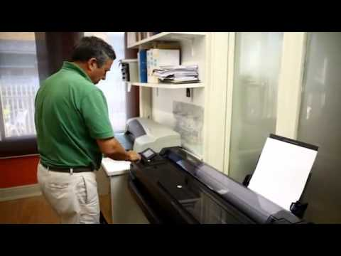 Large Format Customer Review   HP Designjet T520 and HP Designjet ePrint & Share
