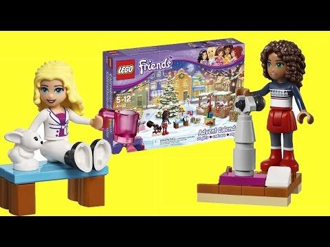 Vidéo LEGO Saisonnier 41102 : Le calendrier de l'Avent LEGO Friends 2015