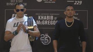 UFC 229: Careos dia de medios