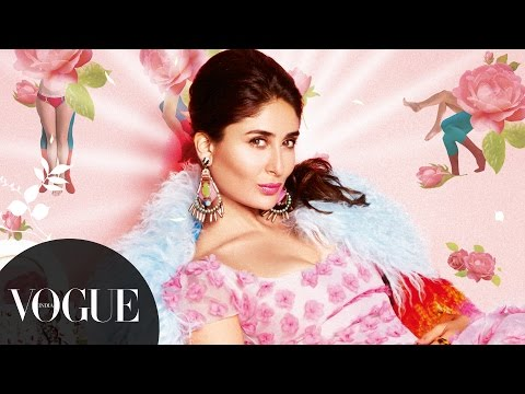 Flower Child: Kareena Kapoor Colours Up Our March '14 Cover | Behind-the-Scenes | VOGUE India