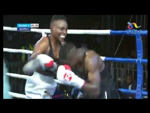 Kenya's Fatuma Zarika VS  Zambian Catherine Phiri fight: Nairobi fight night