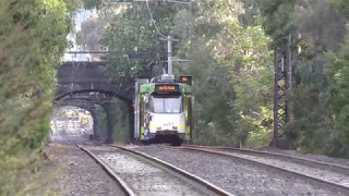 Very Rare Melbourne Tram Route 3a and 16 Diversions St Kilda Light Rail (Route 96)