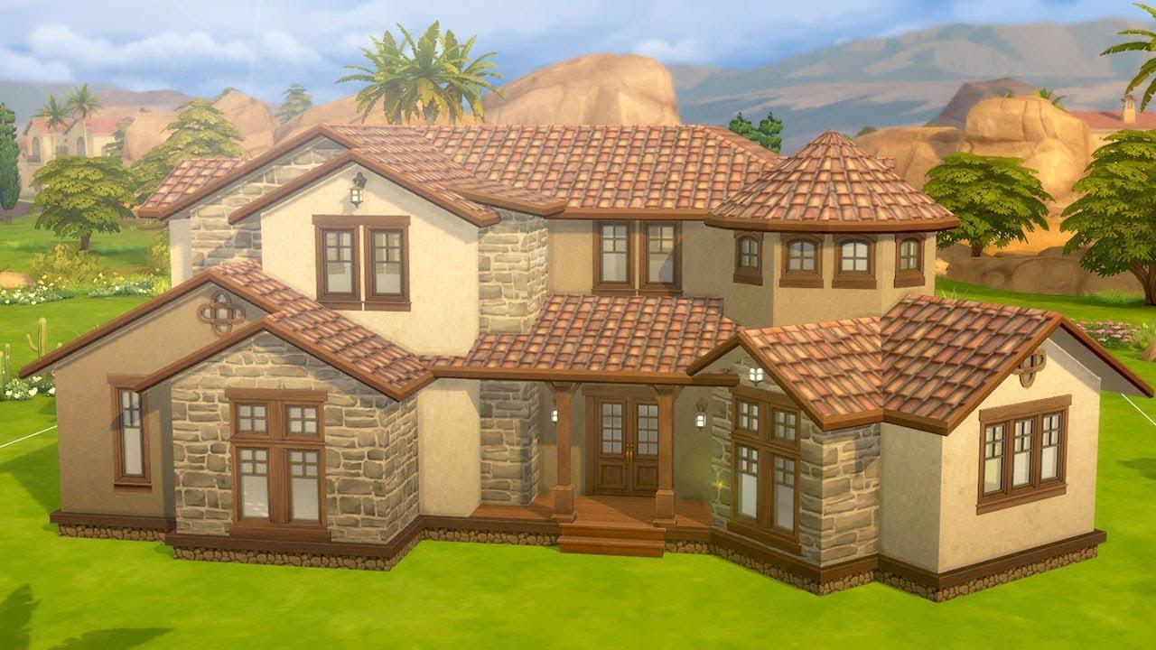 Χτίστε ένα μεσογειακό μέγαρο στο Sims 4 - vTomb