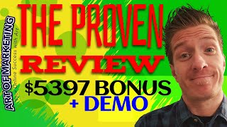 The Proven Review, Demo, $5397 Bonus, TheProven Review