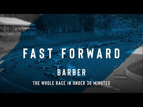 インディーカー開幕戦のアラバマ(バーバー・モータースポーツ・パーク)決勝レースを30分にまとめたハイライト動画