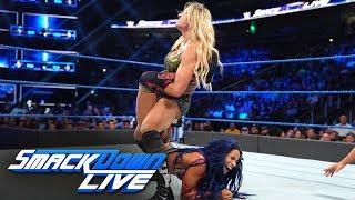 Charlotte Flair vs. Sasha Banks: SmackDown LIVE, Sept. 17, 2019