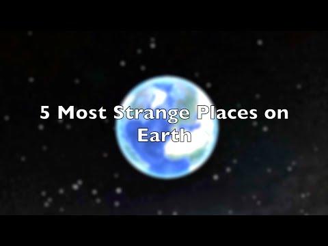 Fem av de merkeligste stedene på jorda – sett oven ifra