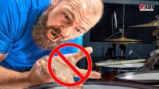 How To Fix Your Weak Drumming Hand | DRUM LESSON
