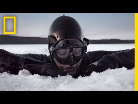 Free Diving in the Arctic