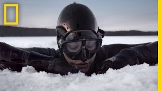 Arctic Free Diving Helped Save Her Leg - Now She Has a World Record | Short Film Showcase - Video Youtube