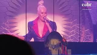 What a Girl Wants/COOB/Keep On Singin My Song/CHUD -  Liberation Tour - New York (03/10) Legendado