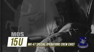 MOS 15U (NRCM) Service in the 160th: My Life in Special Operations Aviation