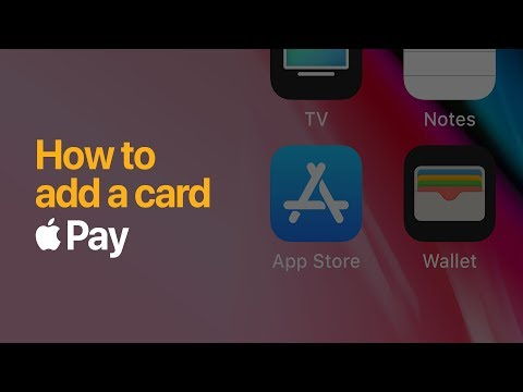 Apple Pay — How to add a card on iPhone — Apple