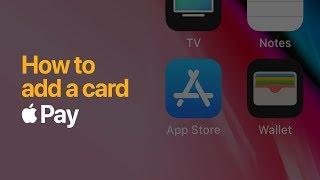 Apple Pay – adding a card