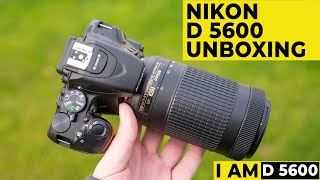 Nikon DSLR Camera D5600 AF-P 18-55mm Lens
