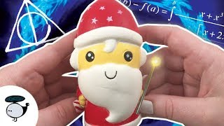 IS SANTA A WIZARD? (Squishies from Amazon)