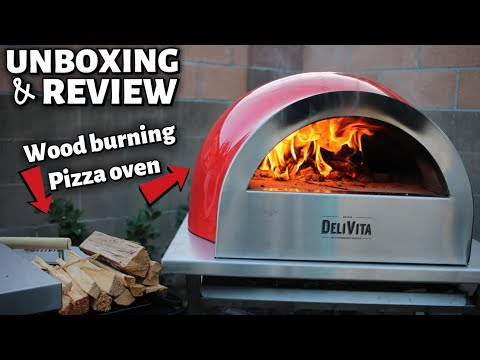 THE SMALLEST WOOD BURNING PIZZA OVEN I EVER SEEN – DELIVITA REVIEW
