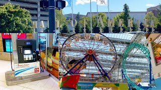 The LARGEST Mall |USA TOUR | Mall of America Tour | Gas Pump Roller Coaster & 500+ Stores