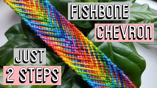 FISHBONE CHEVRON || Friendship Bracelets