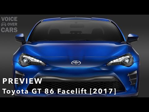 2017 Toyota GT86 Facelift Weltpremiere NewYork NYIAS 2016 | Voice over Cars