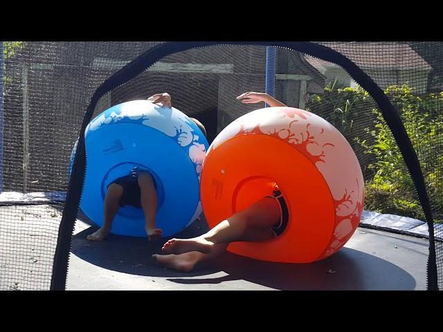 كور تصادم كرات نفخ بالونات مصارعة كورات تدحرج كرة فقاعة كور سومو بالون