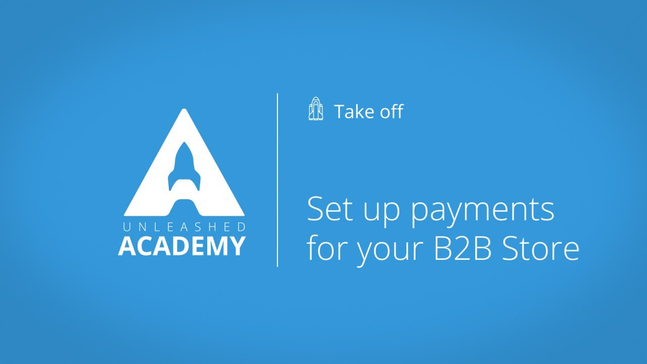 Set up payments for your B2B Store YouTube thumbnail image