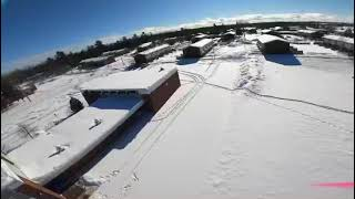 Rippage after the snowstorm- fpv