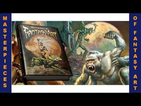 Masterpieces of Fantasy Art - Dian Hanson - Taschen books 2020 - famous first edition - book flip
