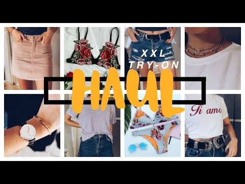 XXL SUMMER TRENDS TRY ON HAUL!!! Brandy Melville, Triangl, Subdued, DanielWellington...