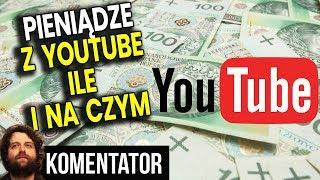 Ile i Na Czym Zarabiają YouTuberzy nie tylko na YouTube – Analiza Komentator Pieniądze Praca Kariera