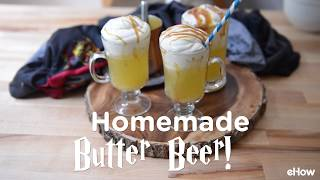 Homemade Butter Beer Recipe